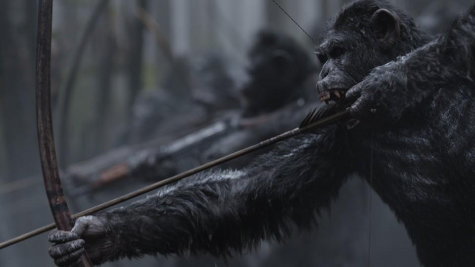 War - il Pianeta delle Scimmie:  Primo Trailer