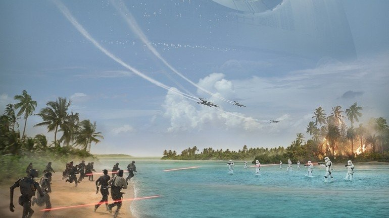 Rogue One: a Star Wars Story:  Full Trailer