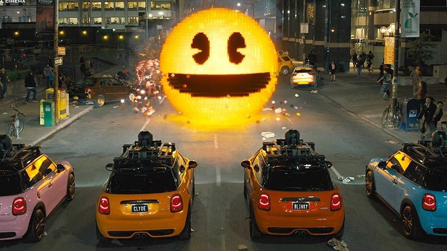 Pixels:  Full Trailer Italiano