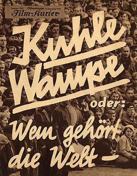 Kuhle Wampe Oder: Wem Gehört Die Welt?