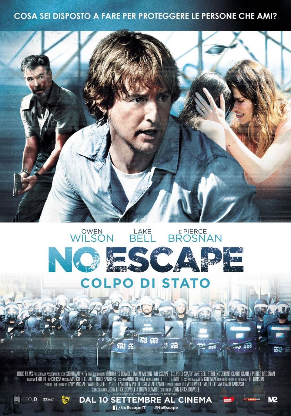 No Escape: Colpo di Stato