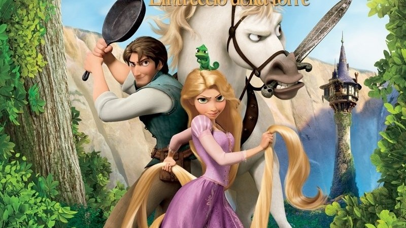 HD - Rapunzel - L'Intreccio della Torre: Pod - Superpadella