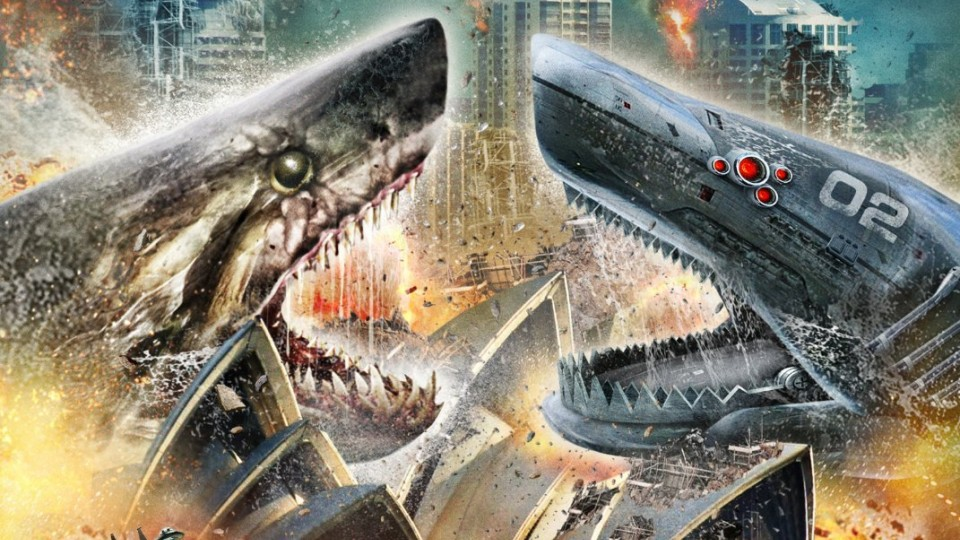 HD - Mega Shark Vs. Mecha Shark: Trailer Italiano