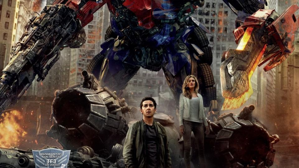 HD - Transformers 3: Full Trailer Italiano