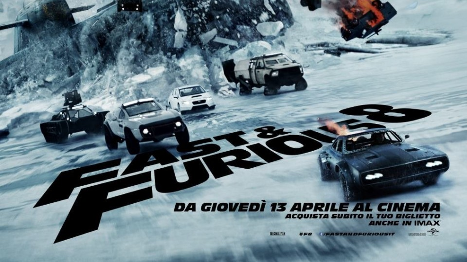 HD - Fast & Furious 8: Trailer Italiano